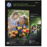 """HP Everyday Photo Paper - Letter - 8 1/2"""" x 11"""" - Semi-gloss - 50 / Pack"""