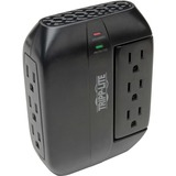 Tripp Lite Protect It! Swivel6 Six-Outlet, Direct Plug-in Surge Suppressor - 6 x NEMA 5-15R - 1080 J - 120 V AC Input - 120 V AC Output
