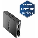 TRENDnet TFC-110 100Base-TX to 100Base-FX Multi Mode Fiber Converter - 1 x SC , 1 x RJ-45 - 100Base-FX, 10/100Base-TX