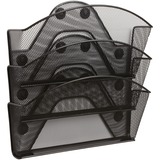 Safco Black Magic Magnetic Triple File Pocket