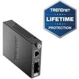 TRENDnet TFC-110 100Base-TX to 100Base-FX Multi Mode ST Fiber Converter - 1 x RJ-45 , 1 x ST - 10/100Base-TX, 100Base-FX