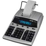 "Victor 12403A Professional Calculator - Dual Color Print - Dot Matrix - 4.3 lps - Big Display, Independent Memory - 12 Digits - Fluorescent - AC Supply/Power Adapter Powered - 3.3"" x 9"" x 12.8"" - White - 1 Each"