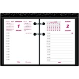 """Brownline Ideal C1S Calendar Pad Refill - Daily - 1 Year - January 2020 till December 2020 - 7:00 AM to 5:00 PM - 1 Day Double Page Layout - 3 3/4"""" x 2 7/8"""" - White - Paper - Appointment Schedule, Reference Calendar"""