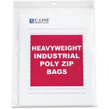 C-Line Heavyweight Industrial Poly Zip Bags