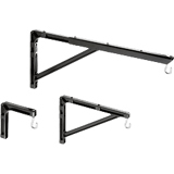 No6 Wall Brackets 6in Extension Black F/Manual Screens Up To 75 / Mfr. No.: 98035