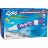 Expo Low Odor Chisel Tip Dry-erase Marker - Chisel Marker Point Style - Purple - 12 / Dozen