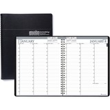 House of Doolittle Black Professional Weekly Planner