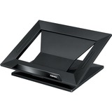 """Fellowes Designer Suitesâ""""¢ Laptop Riser - Up to 17"""" Screen Support - 11.34 kg Load Capacity - 4"""" (101.60 mm) Height x 13.19"""" (335.03 mm) Width x 11.19"""" (284.23 mm) Depth - Black, Pearl"""