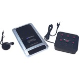 AmpliVox 6-station Jack Box Cassette Recorder