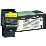 Lexmark - Toner cartridge, Extra High Yield, 1 x yellow, 4000 pages, LRP / TAA
