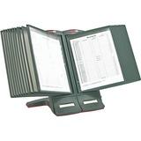 """Master MasterView Desktop Stand - 48 x Sheet - 9.5"""" Height x 14.5"""" Width x 17"""" Depth - Desktop - Charcoal Gray - 1 / Each"""