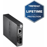 TRENDnet Intelligent 1000Base-T to 1000Base-SX Multi-Mode Fiber Converter - 1 x RJ-45 , 1 x SC - 1000Base-T, 1000Base-SX