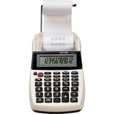 "Victor 12054 Printing Calculator - 2 - Environmentally Friendly, Large Display, Independent Memory, 3-Key Memory - Power Adapter Powered - 1.8"" x 4"" x 8"" - Multi, Black - 1 Each"