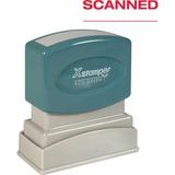 Xstamper SCANNED Pre-inked Stamp