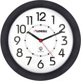"""Lorell 9"""" Radio Controlled Profile Wall Clock"""