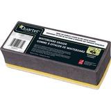 "Quartet BoardGear Markerboard Eraser - 5"" (127 mm) Width x 1.38"" (34.92 mm) Length - Washable - 1Each"