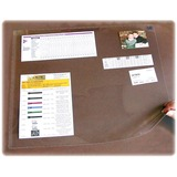 """Artistic Second Sight Clear Desk Protectors - Rectangle - 36"""" (914.40 mm) Width - Plastic - Clear"""