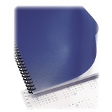 """GBC Heavy Duty Binding Cover - For Letter 8 1/2"""" x 11"""" Sheet - Navy - Poly - 50 / Pack"""