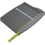 "Swingline 93150 Guillotine Paper Trimmer - Cuts 10Sheet - 15"" (381 mm) Cutting Length - 1.75"" (44.45 mm) Height x 13"" (330.20 mm) Width x 19.62"" (498.35 mm) Depth - Plastic, Steel Blade - Gray"