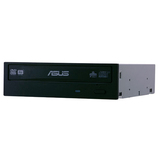 "Asus DRW-24B1ST DVD-Writer - OEM Pack - Black - 48x CD Read/48x CD Write/32x CD Rewrite - 16x DVD Read/24x DVD Write/8x DVD Rewrite - Double-layer Media Supported - 5.25"" - 1/2H"