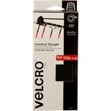 VELCRO® Brand Industrial Strength Tape, 4ft x 2in Roll, Black