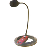 Syba Desktop Microphone W/ Swan Neck 3.5mm 6.5ft / Mfr. No.: Cl-Me-606