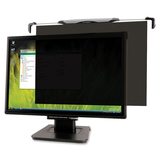 "Kensington Snap2 Privacy Screen Filter - For 20"" Widescreen, 19"" Monitor - Smudge Proof"