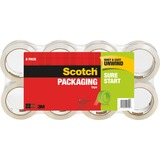 "Scotch® Sure Start Packaging Tape, 1.88"" x 54.60 yds"