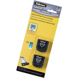"Fellowes SafeCutâ""¢ Rotary Trimmer Blades - 2Pk Straight - Straight Style - Retractable - Stainless Steel - 2 / Pack - Black"