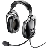 Plantronics SHR 2301-02 Headset - Stereo - Wired - Over-the-head - Binaural - Ear-cup - Noise Cancelling Microphone