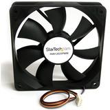 StarTech.com 120x25mm Computer Case Fan with PWM - Pulse Width Modulation Connector - 1 x 120mm - 2200rpm Lubricate Bearing
