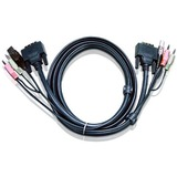 6ft DVI-I Dual Link KVM Cable / Mfr. No.: 2l7d02ui