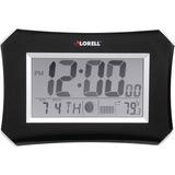 Lorell LCD Wall/Alarm Clock