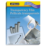 Apollo Laser Print Transparency Film - 50 / Box - Clear