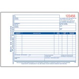 """Adams Purchase Order Form - 50 Sheet(s) - 3 Part - Carbonless Copy - 5.56"""" x 8.43"""" Form Size - Red Print Color - 1 Each"""