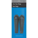 """Filemode Wedge Door Stop - 5"""" (127 mm) Door Clearance - Non-slip, Crush Resistant - Black"""