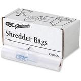 Swingline Shredder Bag - 71.92 L - 25/Box - Poly - Clear