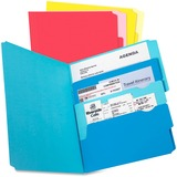"""Pendaflex Divide It Up Multi-Section File Folder - Letter - 8 1/2"""" x 11"""" Sheet Size - Assorted - Recycled - 24 / Pack"""