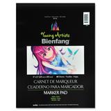 "Bienfang Marker Pad - 40 Sheets - Plain - 9"" x 12"" - White Paper - Acid-free - 1Each"