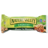 NATURE VALLEY Oats/Honey Granola Bar - Crunch, Honey Touched Oat - 42.5 g - 18 / Box
