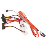 0.7m Int Mini SCSIx4 Sff8087 To 4x1 SCSI Sff8482 / Mfr. No.: 2275300-R