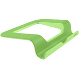 "Belkin Tablet PC Holder - Vertical, Horizontal - 2"" (50.80 mm) x 4.50"" (114.30 mm) - 1 - Gray, Green"