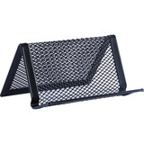 Lorell Black Mesh/Wire Business Card Holder