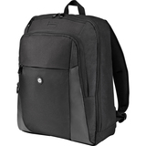 """HP Carrying Case (Backpack) for 15.6"""" Notebook - Black - Foam Interior - Shoulder Strap - 16.50"""" (419.10 mm) Height x 12.50"""" (317.50 mm) Width x 5"""" (127 mm) Depth"""