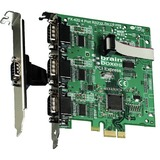 Brainboxes PX-420 4-port PCI Express Serial Adapter