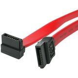 StarTech.com 24in SATA to Right Angle SATA Serial ATA Cable - Female SATA - Female SATA - 24 - Red