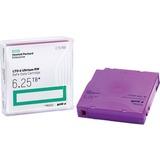 HPE LTO-6 Ultrium 6.25 TB BaFe RW Data Cartridge - LTO-6 - 2.50 TB (Native) / 6.25 TB (Compressed) - 2775.6 ft Tape Length