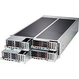 Supermicro Fattwin F627G2-FT+ 4U Xeon E5 16XLGA2011 C602 RDIMM 24SATA 2.5in 16PCIE IPMI 8GBE 1620W R