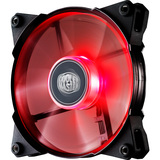 Cooler Master JetFlo 120 - High Performance Red LED 120mm Computer Fan with POM Bearing - 1 x 120 mm - POM Bearing