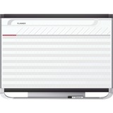 Quartet® Prestige® 2 Magnetic Total Erase® Project Planner, 4' x 3' Board with 25 Row/40 Column Chart